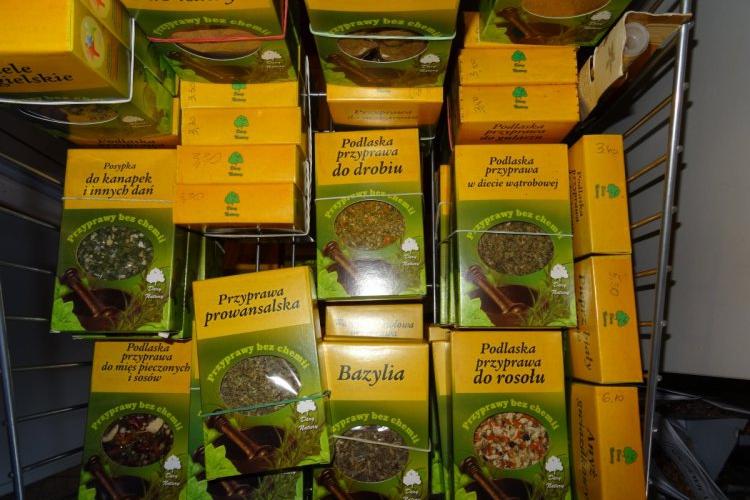 Przyprawy ziołowe
